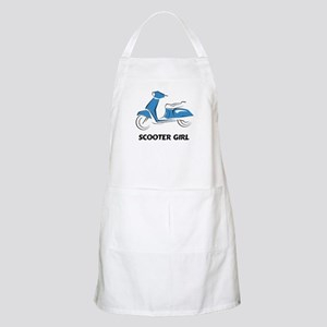Scooter Girl (Blue) BBQ Apron