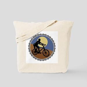 Mountain Bike Chain Design Tote Bag