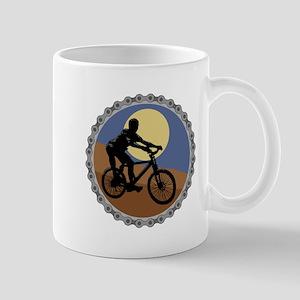 Mountain Bike Chain Design Mug