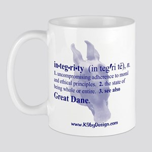 Integrity--Great Dane Mug