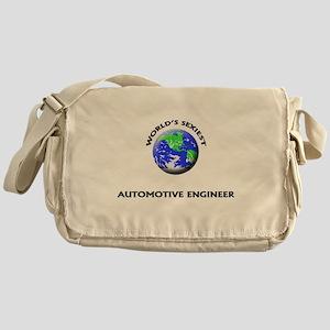 World's Sexiest Automotive Engineer Messenger Bag