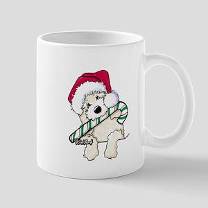 Candycane Cutie Pocket Doodle Mug