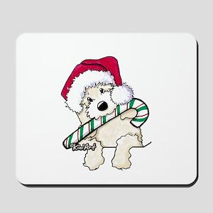 Candycane Cutie Pocket Doodle Mousepad