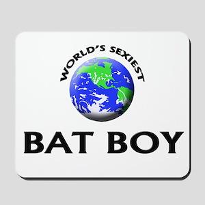 World's Sexiest Bat Boy Mousepad
