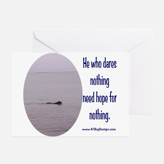 He Who Dares Greeting Cards (Pk of 10)