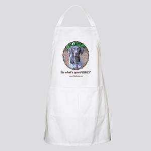 your POINT? BBQ Apron