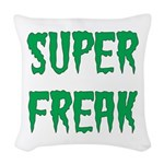 Super Freak Woven Throw Pillow
