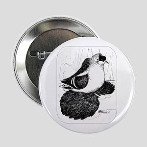 """Saxon Swallow Pigeon 1978 2.25"""" Button"""