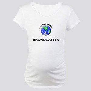 World's Sexiest Broadcaster Maternity T-Shirt