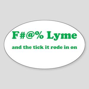 F#@% Lyme - Green - Sticker