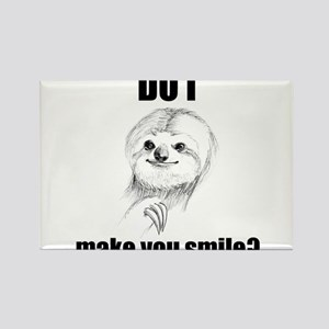 Sloths Like to Smile Rectangle Magnet