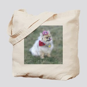 Pomeranian Tote Bag 10 commandmnts for dogs