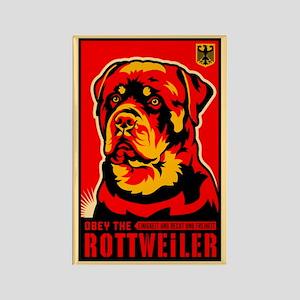 Obey the Rottweiler! Propaganda Magnet
