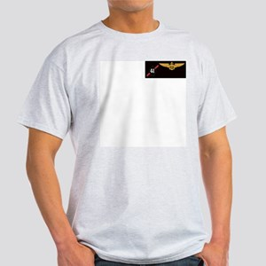 F-14 Tomcat VF-41 Black Aces Ash Grey T-Shirt