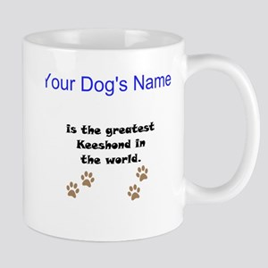 Greatest Keeshond In The World Small Mug