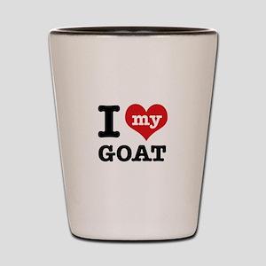 I love my Goat Shot Glass