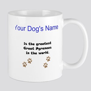 Greatest Great Pyrenees In The World Small Mug