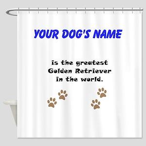 Greatest Golden Retriever In The World Shower Curt