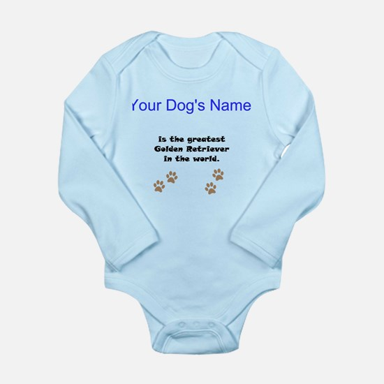 Greatest Golden Retriever In The World Body Suit