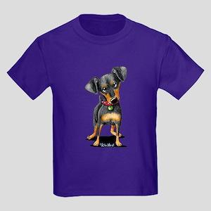 Min Pin Kids Dark T-Shirt
