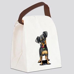 Min Pin Canvas Lunch Bag