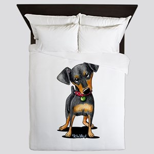 Min Pin Queen Duvet