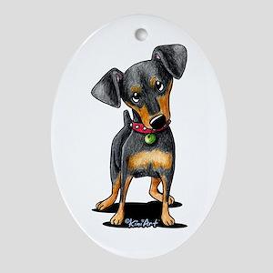 Min Pin Ornament (Oval)