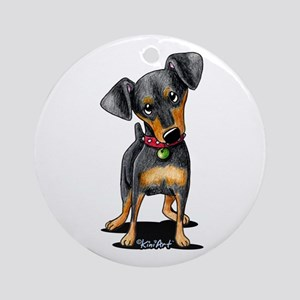 Min Pin Ornament (Round)
