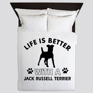 Funny Jack Russell Terrier lover designs Queen Duv