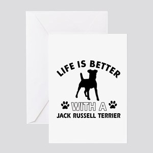 Funny Jack Russell Terrier lover designs Greeting