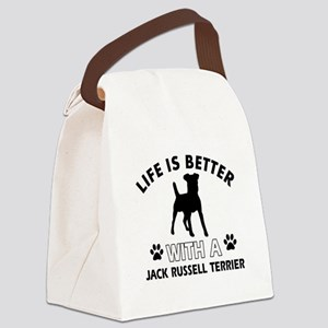 Funny Jack Russell Terrier lover designs Canvas Lu
