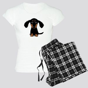 Cute Dachshund Women's Light Pajamas