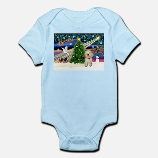 XmasMagic/Havanese pup Infant Bodysuit