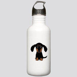 Cute Dachshund Stainless Water Bottle 1.0L
