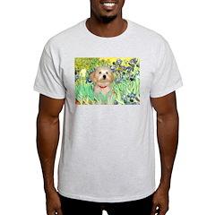 Irises & Havanese Puppy T-Shirt