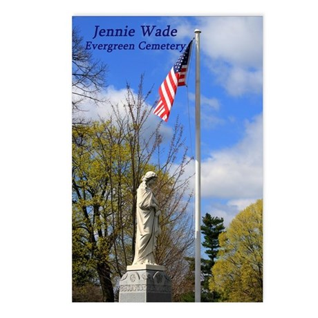 Jennie Wade Postcards (Package of 8)