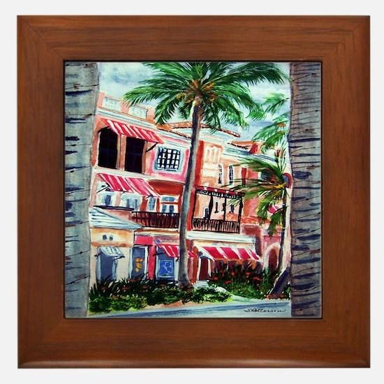 """On the Avenue"" Framed Tile"