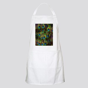 Peacock Feathers Invasion Apron