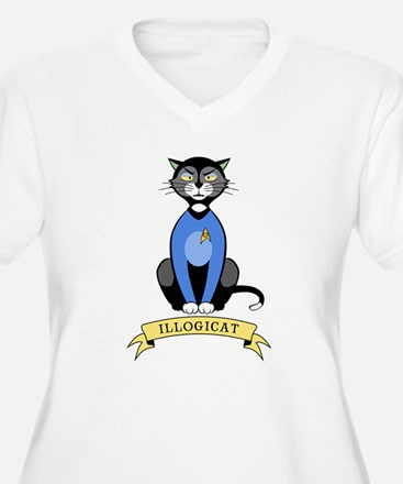 Illogicat Plus Size T-Shirt