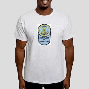 Virginia Corrections Ash Grey T-Shirt