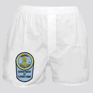 Virginia Corrections Boxer Shorts