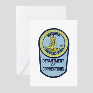Virginia Corrections Greeting Cards (Pk of 10)