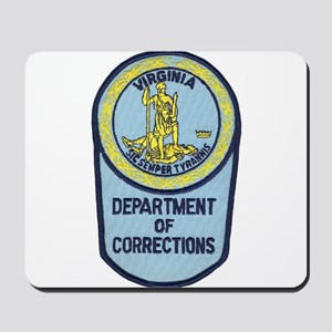 Virginia Corrections Mousepad