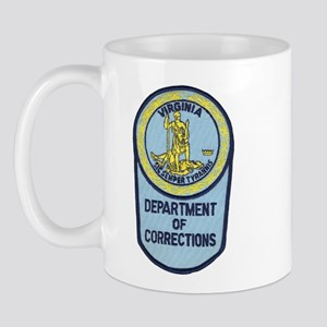 Virginia Corrections Mug