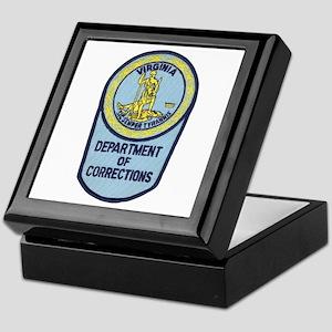 Virginia Corrections Keepsake Box