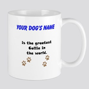 Greatest Collie In The World Small Mug