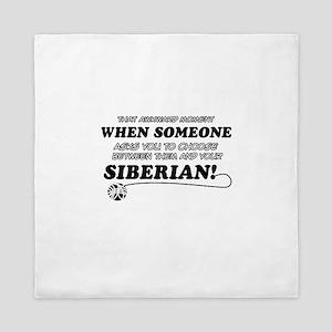 Siberian designs Queen Duvet