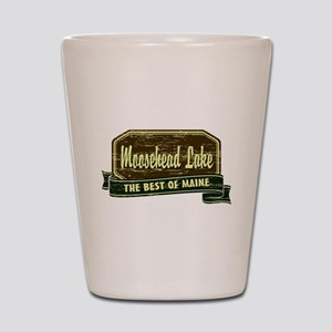 The Best of Maine Shot Glass