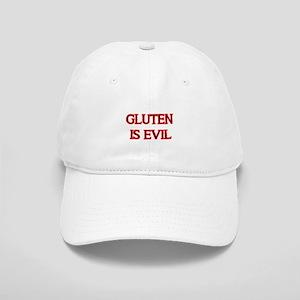 GLUTEN IS EVIL 2 Baseball Cap