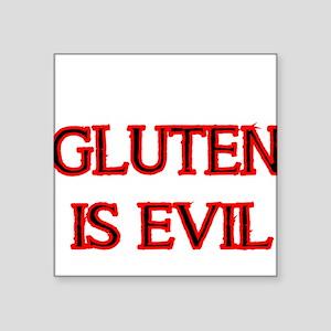 GLUTEN IS EVIL 2 Sticker
